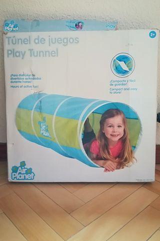 Tienda de campaña y túnel para niños