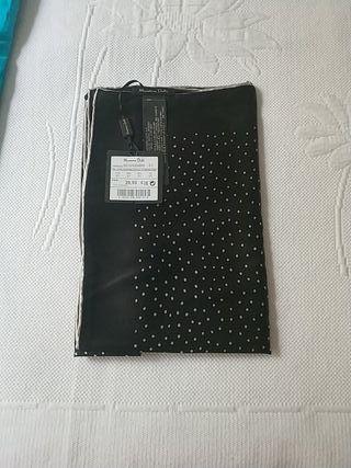 Pañuelo de seda Massimo Dutti