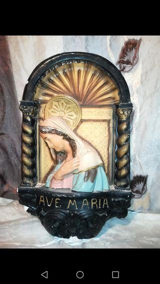 Antiguo Retablo religioso para restaurar