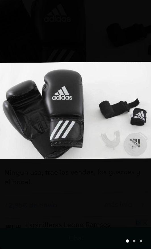 kit de adidas muay thai.