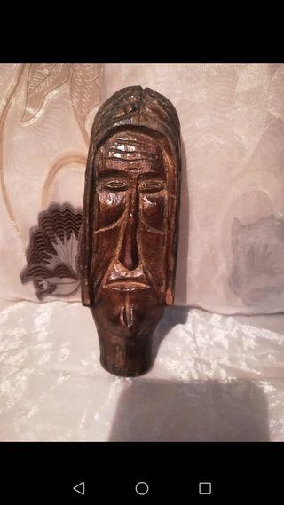 Antigua talla Religiosa de madera
