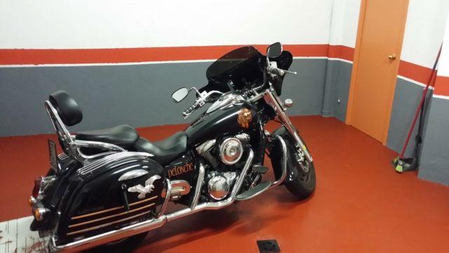 Kawasaki vulcan 1600cc clasic tourer