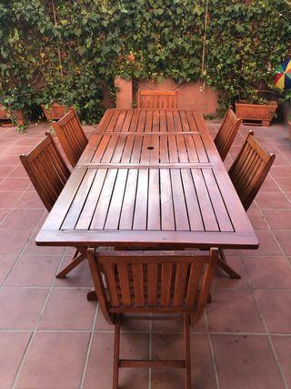 Mesa Jardin y sillas