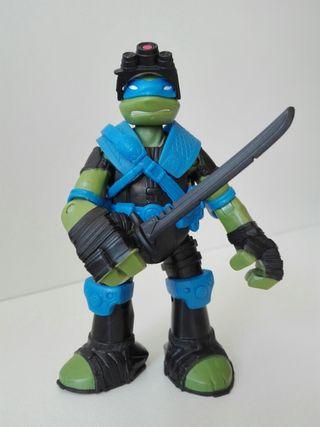Figura De Tortuga Ninja Leonardo - Viacom (2013)
