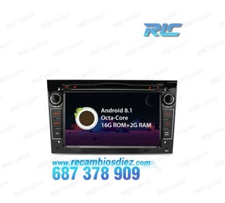 "RADIO GPS LCD TÁCTIL 7"" OPEL ASTRA H CORSA D ZAFIR"