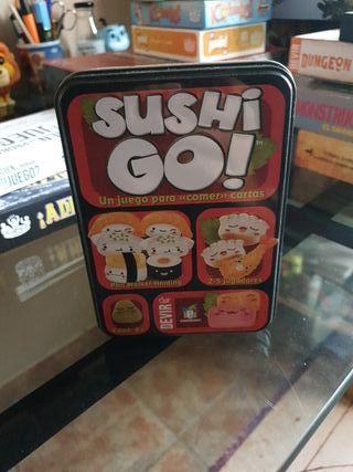 Juego de mesa: Sushi go!