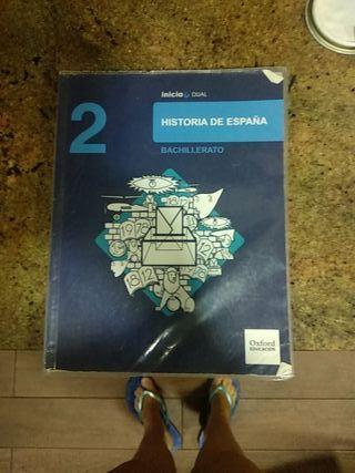 libro 2 bachillerato historia de España