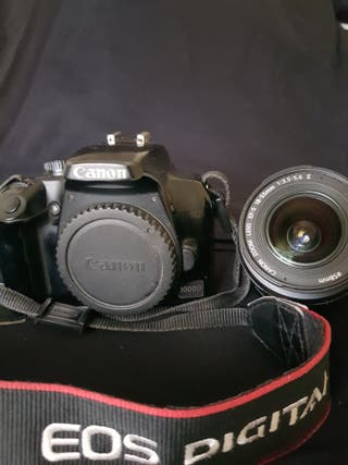 Cámara réflex digital Canon Eos 1000D