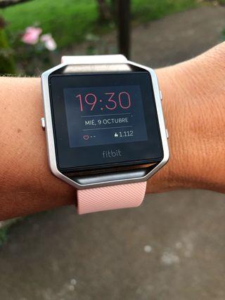 Fitbit Blaze smartwatch y cuantificador