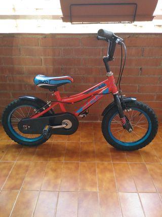 bicicleta pedales niño