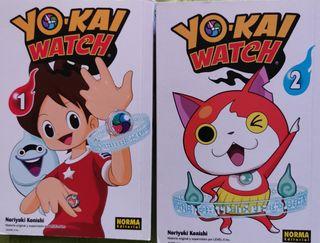 libros manga YO-KAI