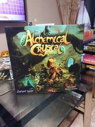 Juego de mesa: Alchemical crystal quest