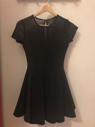 Vestido de fiesta negro de Maje