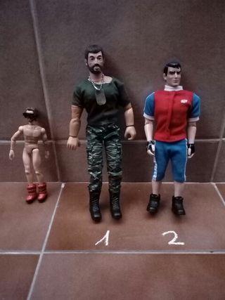 Muñeco Geyperman y otros