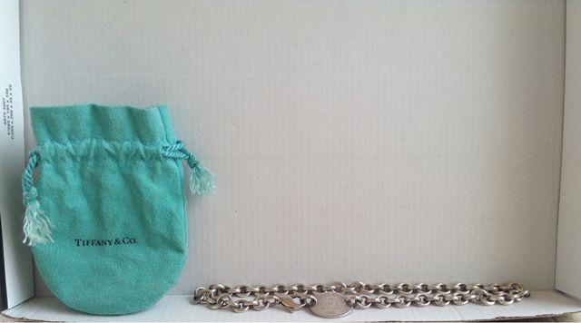 Collar de plata de Tiffany