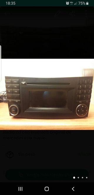 radio cd coche mercedes