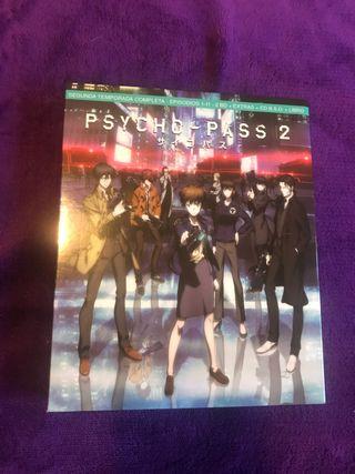 Psycho pass segunda temporada completa bluray