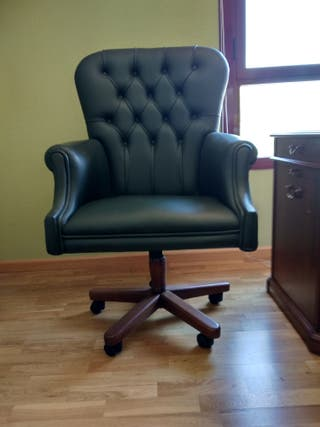 Mesa despacho. Sillón dirección. 2 sillas GENOVEVA
