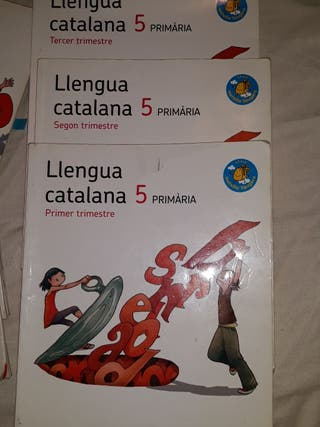 Libro llengua catalana 5 primaria
