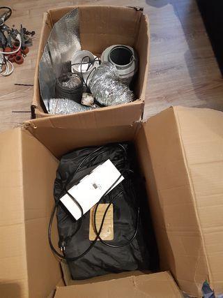 Pack armario de cultivo interior Profesional 400 W