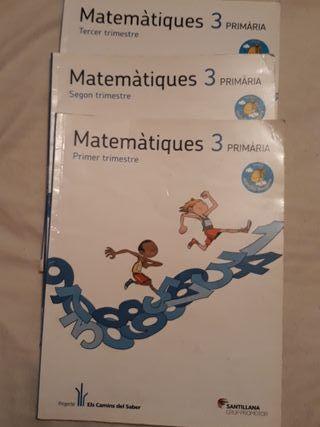libro matemáticas 3r primaria
