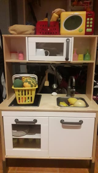 Cocina Juguete Ikea madera