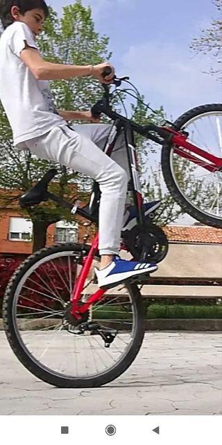 vendo bicicleta de montaña niños