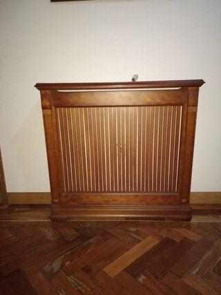 Cubrerradiador madera