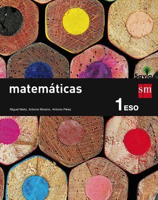 Libro de matemáticas sm SAVIA 1 ESO