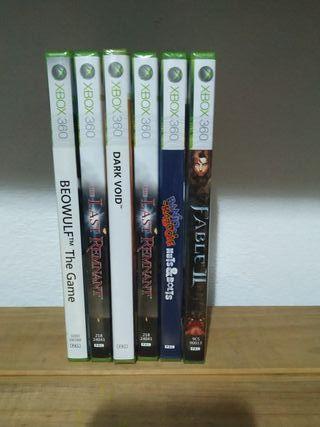 lote juegos Xbox 360 precintados