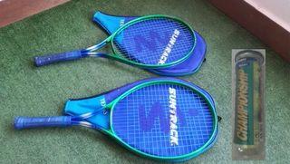 OFERTA 2 Raquetas de tenis+ bote de bolas 18€