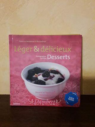 Livre desserts sans sucre diabétique