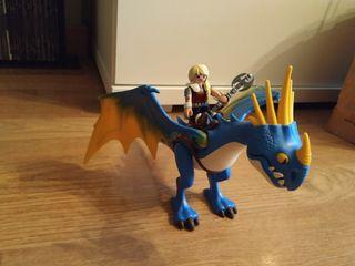 Playmobil - DreamWorks Dragons Astrid y Tormenta