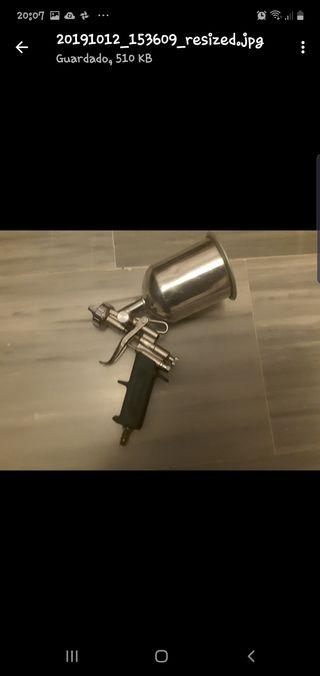 pistola de pintar nueva a estrenar