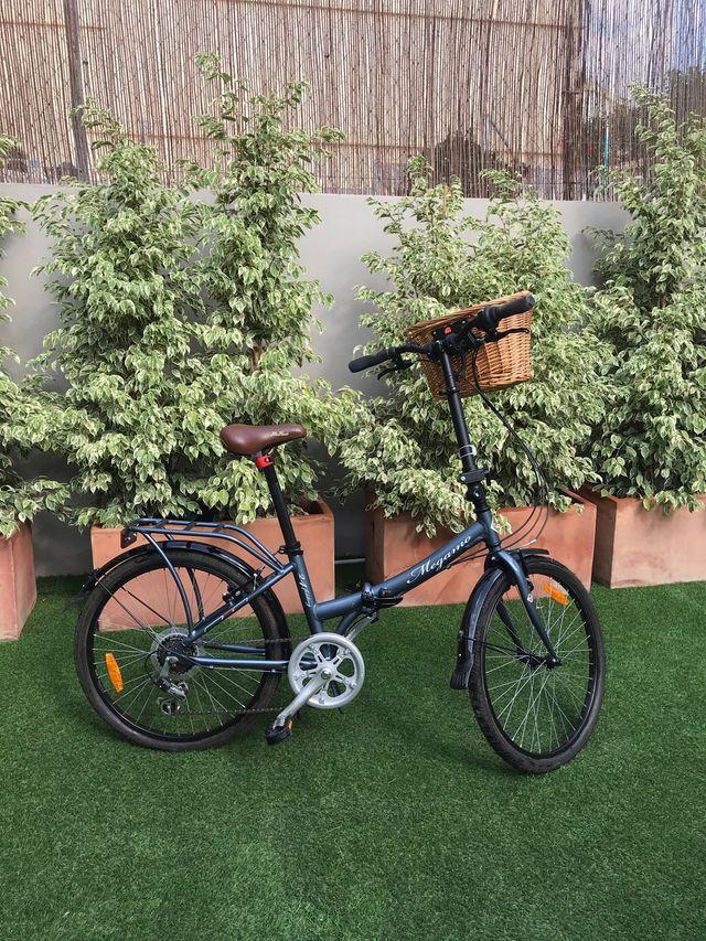 Bicicleta plegable diseño nueva
