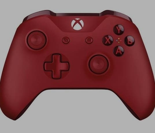 Red Xbox One Controller