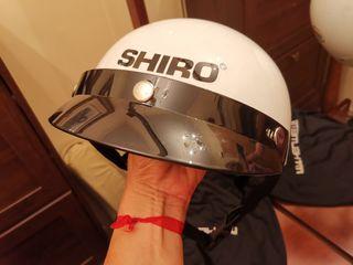 casco patín electrico o moto shiro