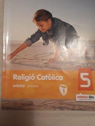 libro de religión católica 5 primaria