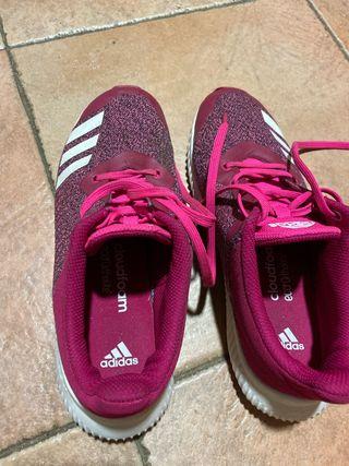Querer cargando variable  Zapatillas adidas niña de segunda mano en Mataró en WALLAPOP
