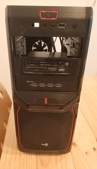 Chasis pc Nox Pax Red Edition USB 3.0