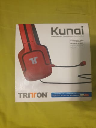 TRITTON Kunai Cascos / Auriculares (Con micro)