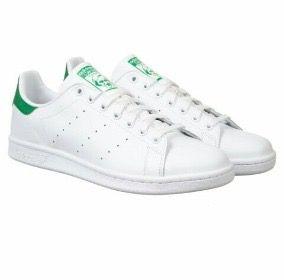 Zapatillas adidas Stan smith verde y blancas