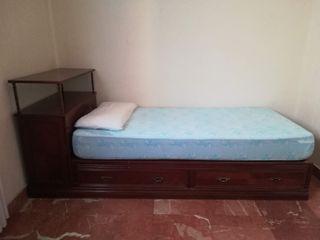 Cama de 90 cm.