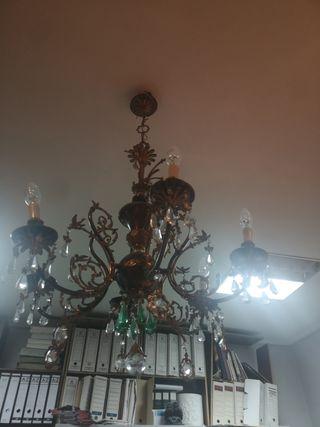 lámpara colgante techo