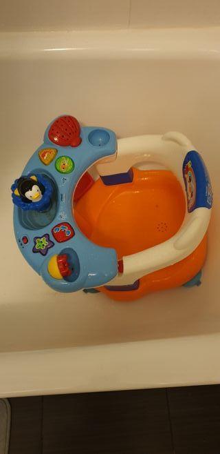 silla para baño de bebe