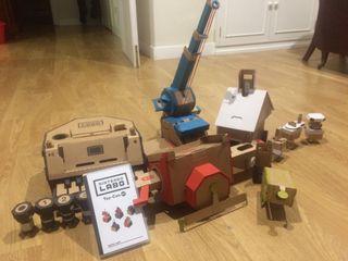 Juego nintendo switch labo toy-con Kit variado
