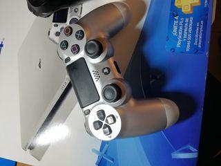 Dualshock 4 PS4 silver edition