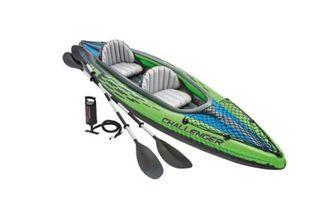 Kayak canoa hinchable INTEX Challenger K2