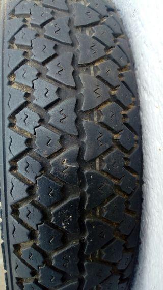 Rueda neumático cubierta moto michelin 3,50 x 10