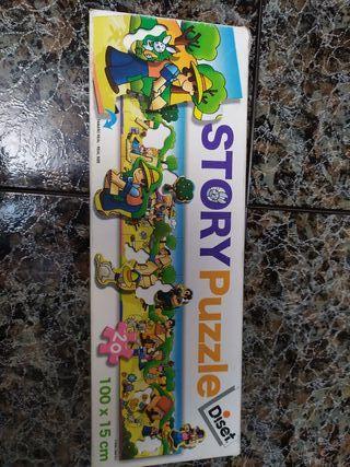 Puzzles infantiles. 2 años
